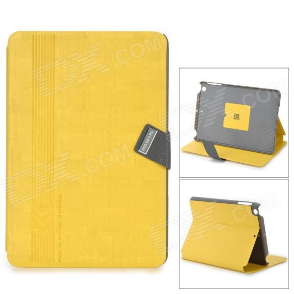 BASEUS Protective Flip-open Smart PU Leather Case for IPAD MINI - Yellow