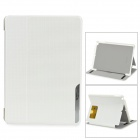 BASEUS Protective Smart PC + PU Leather Holder Case for IPAD AIR - White
