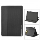 BASEUS Protective Smart PC + PU Leather Holder Case for IPAD AIR - Black