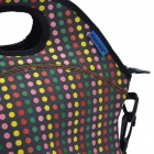 KEEPER Sponge Lunch Box Bag  - Black + Multicolored