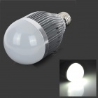 fengyangdengshi 007 E27 9W 300lm 6500K 9-LED White Light Bulb - Silver (12V)