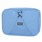 Creeper Water Resistant Outdoor Travel Toiletries Storage Bag - Light Blue