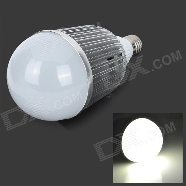 fengyangdengshi 007 E27 15W 480lm 6500K 15-LED White Light Bulb - Silver (12V) barrow tzs1 a02 yklzs1 t01 g1 4 white black silver gold acrylic water cooling plug coins can be used to twist the