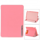 BASEUS Protective Smart PC + PU Leather Holder Case for IPAD AIR - Pink