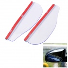 Car Rear-View Mirror Rainproof Blade - Transparent (Pair)