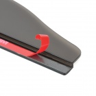Car Rear-View Mirror Rainproof Blade - Preto translúcido (par)