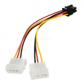 6-Pin Power Adapter Cable for PCI-Express Video Cards