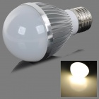 fengyangdengshi 007 E27 5W 180lm 3000K 5-LED Warm White Light Bulb - Silver (12V)