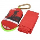 DAVS MJ-812 Quick-Drying Deodorant Antibacterial Towel w/ Bag / Quick Release Buckle - Red