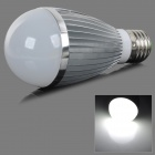 fengyangdengshi 007 E27 9W 6500K 240lm 7-LED White Light Bulb - Silber (12V)
