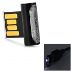 RYVAL ELF Mini Ultra Thin USB 2.0 Flash Drive - Black + Translucent + Multi-Colored (32GB)