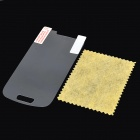 Matte ARM Screen Protectors w/ Cleaning Cloths for Samsung S3 Mini / i8190 - Transparent (50 PCS)