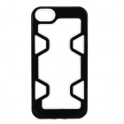 Protective Plastic Bumper Frame for IPHONE 5 / 5S - Black + White