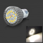 Kakashi AS-04 GU10 8W 650lm 3500K 15 SMD 5630 Ampoule à LED Hot White Light LED-Argent (85 ~ 265V)