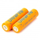 UItra Fire Rechargeable 14500 Battery - Orange + Black + Multi-Colored (2PCS / 3.6V)