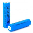 4800 Rechargeable 4800mAh 3.7V Li-ion Battery for Flashlight - Blue
