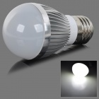 fengyangdengshi 007 E27 9W 120lm 6500K 3-LED White Light Bulb - Silver (12V)