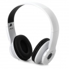 AEC BQ605 Wireless A2DP Stereo CSR Bluetooth V2.1+EDR Headset w/ Micro SD Slot / FM Radio - White
