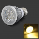 E27 5W 500lm 3200K 5-LED Warm White Spotlight Bulb - Silver (AC 110V)