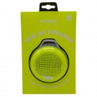 MGOM X5 Superior Quality Bluetooth V3.0+EDR Speaker w/ TF / Earphone Jack / FM / Microphone - Yellow
