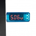 "Litong 0.4"" Red LED 4-Digit USB Power Charger Voltage Current Tester"