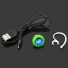 Universal Bluetooth V3.0+EDR Stereo In-ear Headphone w/ Microphone for IPHONE / IPAD (Cable-68cm)