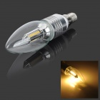 E14 5W 230lm 3000K 32-SMD 3014 LED Warm White Spotlight Bulb (85~265V)