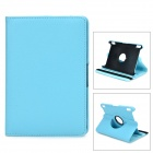 360 Degree Rotatable Protective PU Leather Case for Amazon Kindle Fire HDX7 - Blue