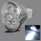 TOHDA TH-MR16-4N 4W GU5.3 300lm 6000K 4-COB White Light Spotlight - White (12V)