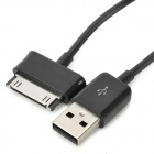 30-pin macho a macho USB Data cable de carga para Samsung Galaxy Note N8000 10.1 / N5100 (2 PCS)