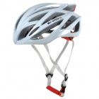 KUYOU KY-009 Protective Bicycle PC + EPS Helmet  - White (Free Size)