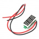 Two-Line 3-Digital DC Voltmeter - Multicolored (2.4~30V)