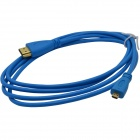 HDMI v1.4 Male to Micro HDMI Male Connection Cable - Blue (150cm)