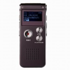THCHI CM-11 Wiederaufladbare Digital Voice Recorder MP3-Player - Dark Red (4GB)