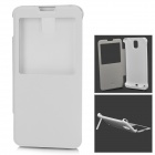 """4200mAh"" External Battery Back Case Cover Stand for Samsung Galaxy Note 3 N9000 - White"