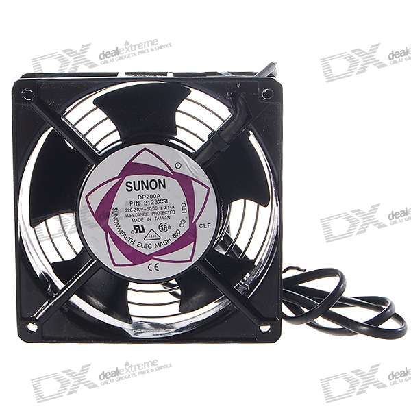 Multifunction Stainless Steel Shelled Fan for Electronics DIY (220~240V)