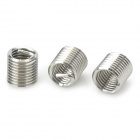 Stainless Steel M6 x 1 x 2D Helicoil - Silver (10PCS)