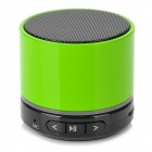 Y-SK-S10G Bluetooth V3.0 Handsfree Speaker w/ Microphone / Mini USB / TF - Green + Black