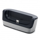 Portable Charging Dock Station + Charging/Data Cable for Samsung Galaxy S3 Mini i8190 / i8160 (90cm)