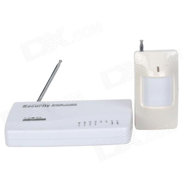 GSM Wireless Alarm Device w/ 8 Door Magnets / Probe - White fgx 215p spectral optical wedge dimensions 50 8 thickness 3 0 15 mm
