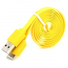 USB 3.0 to Micro USB 3.0 B-Type 9-pin Charging & Data Sync Cable for Samsung Note 3 N9000 - Yellow