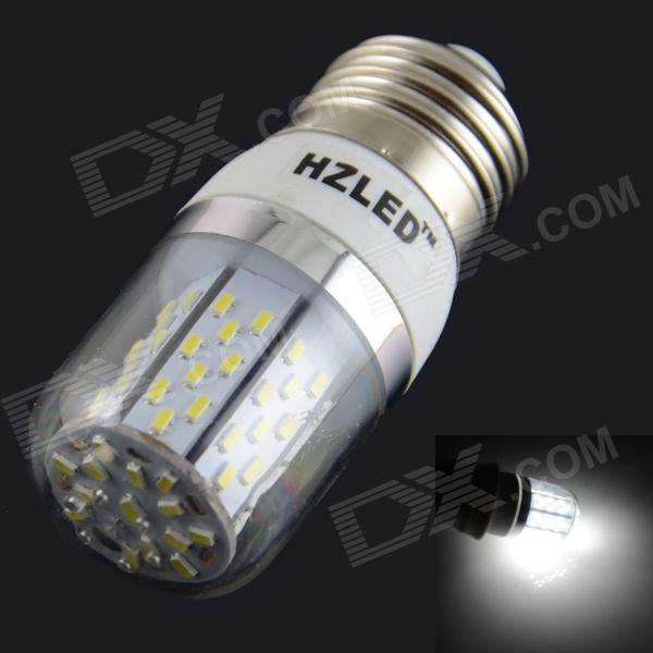 E27 5W 400LM 6000K 78 3014 SMD LED Bulb Is White White + Silver (AC 85-265V) kinfire kf1 5w 400lm 6000k 1 cob led white light ceiling lamp white silver ac 85 265v