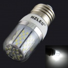 E27 5W 400LM 6000K 78 3014 SMD LED Bulb Is White White + Silver (AC 85-265V)