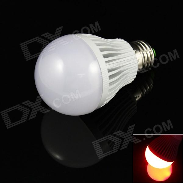 E27 7W 480lm 14 x 5730 SMD  Red Light Lamp Bulb (85~265V) lexing lx r7s 2 5w 410lm 7000k 12 5730 smd white light project lamp beige silver ac 85 265v