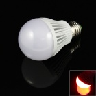 E27 7W 480lm 14 x 5730 SMD  Red Light Lamp Bulb (85~265V)