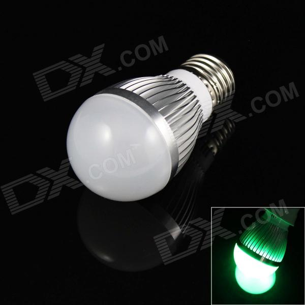 E27 3W 180lm 3-LED Green Light Lamp Bulb (85-265V)
