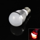 E27 3W 180lm 3-LED Red Light Lamp Bulb (85-265V)