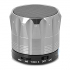 Y-S12A Portable Bluetooth V3.0 Handsfree Speaker w/ Microphone / Mini USB / TF - Black + Silver