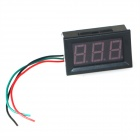 "Produino ST Master Chip 0.56"" 3-Digital Ammeter Head - Black (DC 0~100A / Excluding Shunt)"