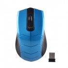 2.4GHz Wireless 1750DPI Optical Mouse - Blue + Black (2 x AAA)